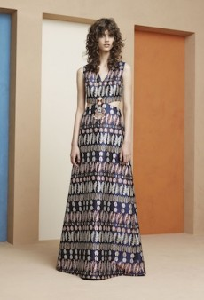 Tory Burch Resort 2016 Runway