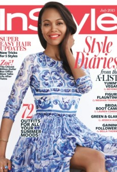 Zoe Saldana Stars on a Lackluster InStyle Cover (Forum Buzz)