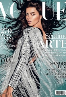 Adriana Lima Works Fringe and Hair Extensions on Vogue Mexico (Forum Buzz)