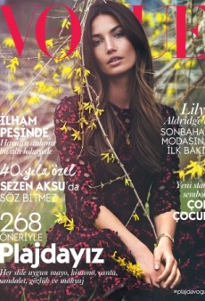 Lily Aldridge Stars on a Boring Vogue Turkey Cover (Forum Buzz)