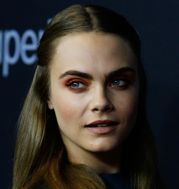 Orange Eyeshadow as Sported by Cara Delevingne