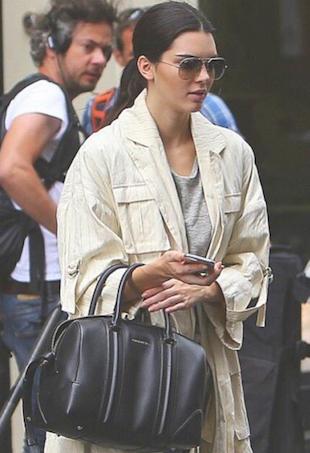 Kendall Jenner at Paris Fashion Week