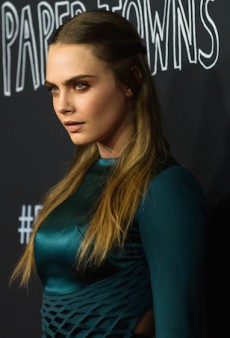 Cara Delevingne Dominates Red Carpet at 'Paper Towns' Sydney Premiere