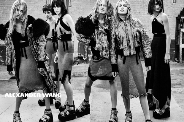 Alexander Wang Fall 2015 Ad Campaign by Steven Klein
