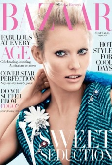 Harper's Bazaar Australia Unexpectedly Taps Emily Baker for August (Forum Buzz)