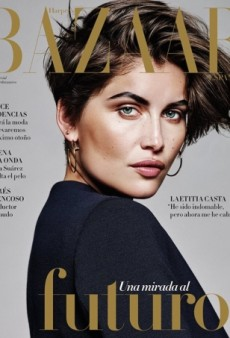 Laetitia Casta Shows Off a Stunning Cropped 'Do on Harper's Bazaar Spain (Forum Buzz)