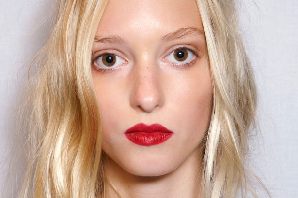 Burberry Prorsum Spring 2015 beauty look