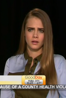 Watch: News Anchors Mock Cara Delevingne, Tell Her to Take a Nap and Have a Redbull