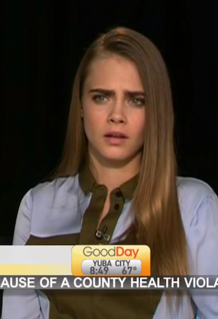 Watch News Anchors Mock Cara Delevingne Tell Her To Take