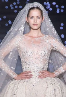 20 Mind-Blowing Wedding Dresses of Haute Couture Fall 2015