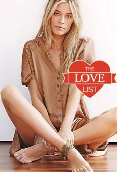 Ankle Bracelets: The Love List