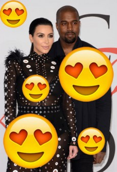 Kim & Kanye: A Fashion Love Story as Told Through Emoji
