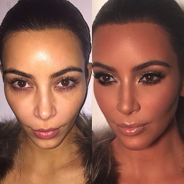 Kim Kardashian Makeup Secrets, According to Her Makeup Artist ...