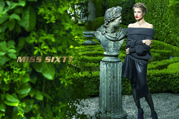 Miss Sixty Fall 2015 Ad Campaign Natalia Vodianova by Mert & Marcus