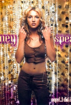 """Britney Spears Recreated """"Oops!…I Did It Again"""" Album Cover with Sons"""