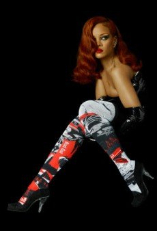 Rihanna Really Really Wants You to Know That She Did Design Her Sock Collection