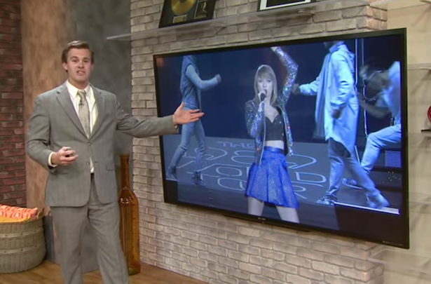 taylor Swift weather man tfs