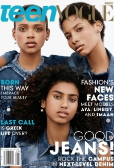 Yes! Teen Vogue's 'New Faces' Cover Features 3 Women of Color (Forum Buzz)