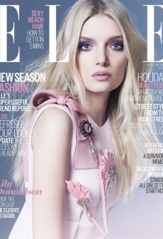 Lily Donaldson Is Pretty In Prada on UK ELLE's August 2015 Cover (Forum Buzz)
