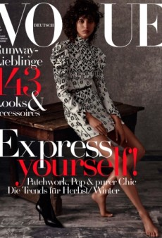 Giampaolo Sgura Gets the Blame for Vogue Germany's Awful August Covers (Forum Buzz)