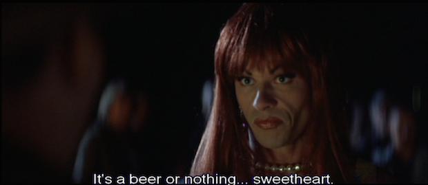 when the drinks menu is uninspiring