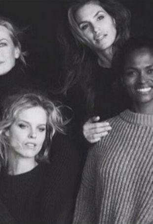 90s supermodel reunion