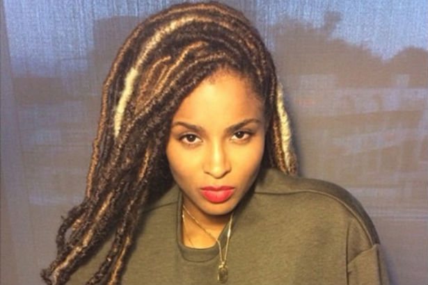 Ciara with locs