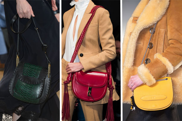 Fall Handbag Trend: Saddlebags; Chloe, Altuzarra, Coach Fall 2015