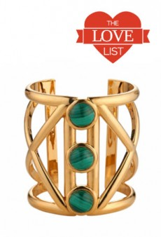 Geometric Jewelry Takes Shape: The Love List
