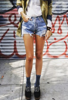 Spotted! 20 Cool New Ways to Wear Cut-Offs This Summer