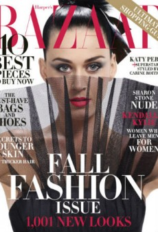 Katy Perry Underwhelms for Harper's Bazaar September 2015 Cover