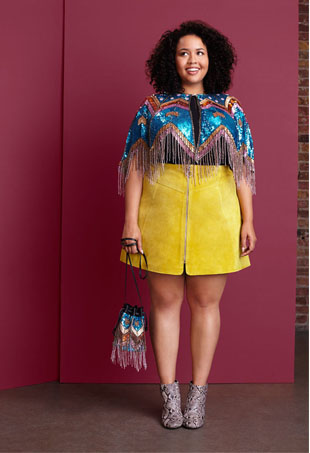 Gabi Fresh for Asos Curve Fall 2015; Image: Asos