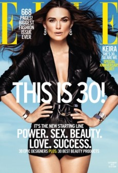 Keira Knightley, Is That You on ELLE's 30th Anniversary Cover? (Forum Buzz)