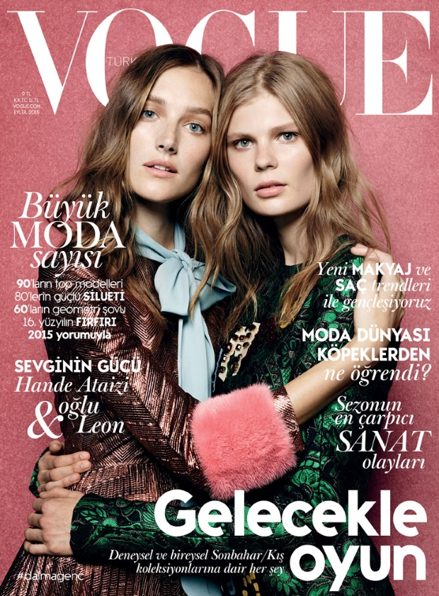 Vogue Turkey September 2015 by Liz Collins