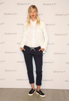Get the Look: Karolina Kurkova Makes a Case for Nautical-Chic
