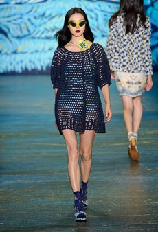 Anna Sui Spring 2016 Runway