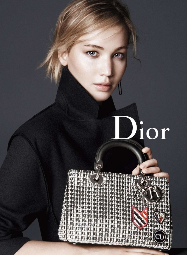 Christian Dior Handbags Fall 2015 Jennifer Lawrence by David Sims