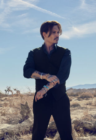 Johnny Depp Dior Sauvage