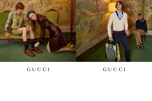 Gucci Resort 2016 Campaign by Glen Luchford