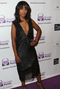 Kerry Washington Unveils Second Purple Purse Collab, Says the Reaction to Her Emmy's Look Made Her 'Uncomfortable'