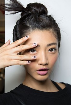 The Best Nails of Fashion Week Spring 2016 (So Far)