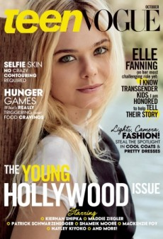 An 'Unrecognizable' Elle Fanning Covers Teen Vogue's Young Hollywood Issue (Forum Buzz)