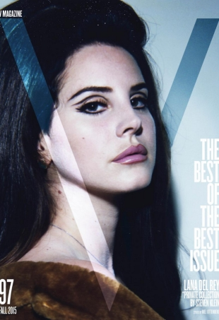 V Magazine #97 Fall 2015 Lana Del Ray by Steven Klein