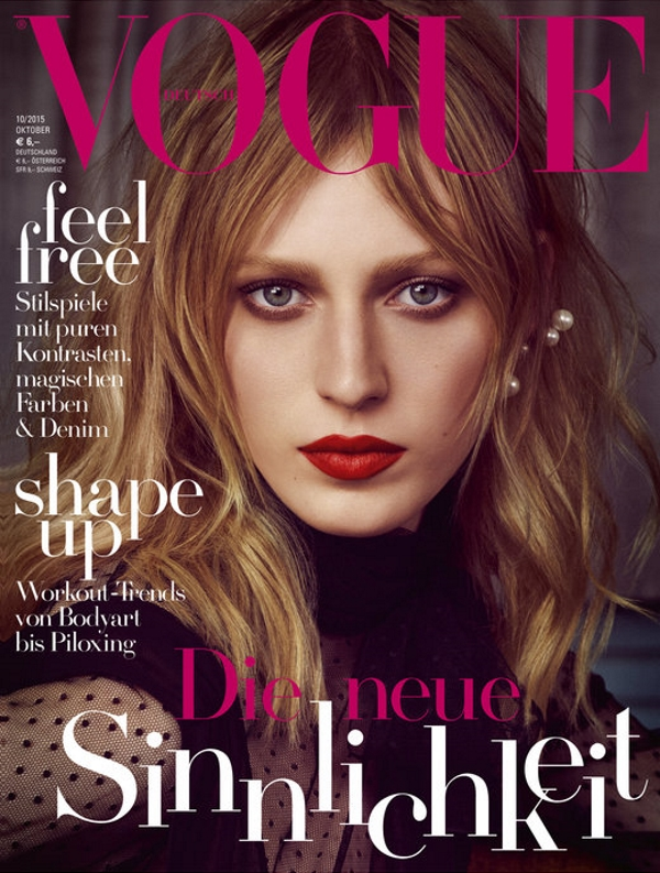 Vogue Germany October 2015 Julia Nobis by Luigi and Iango