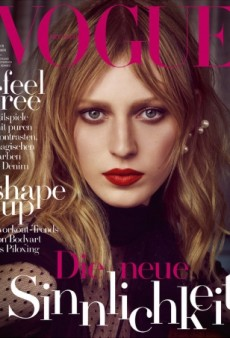 Julia Nobis Brings Plenty of Drama to Vogue Germany's October Cover (Forum Buzz)