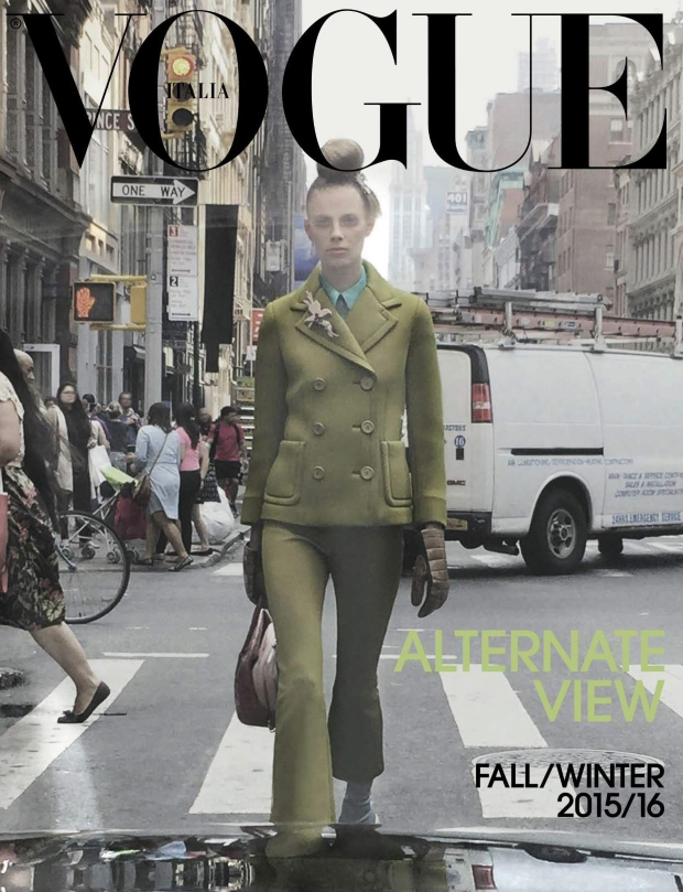 Vogue Italia September 2015 Lexi Boling by Steven Meisel
