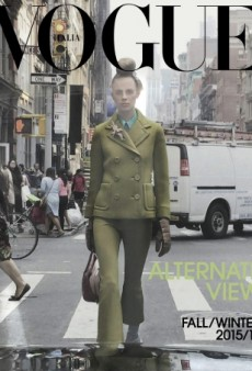 Steven Meisel Captures Lexi Boling Through the Rear Window for Vogue Italia's September Cover (Forum Buzz)