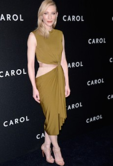 Cate Blanchett's 'Carol' Promo Wardrobe So Far