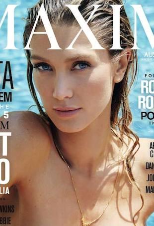 Delta Goodrem covers Maxim Australia