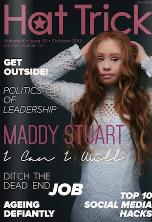 Madeline Stuart magazine cover